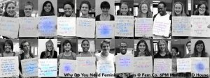 "The Colorado College ""I Need Feminism"" Campaign Launched by FemCo in October 2012"