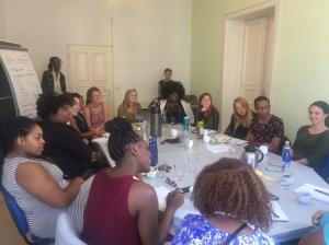 The FemGeniuses with Stefanie-Lahya Ndeshipewa Aukongo