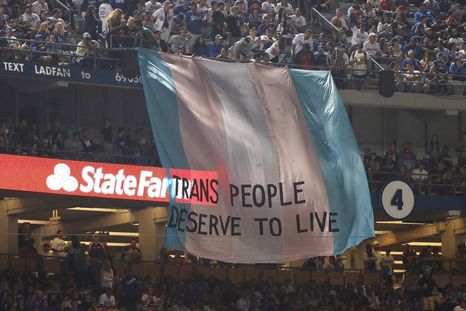 Trans Flag at World Series.png